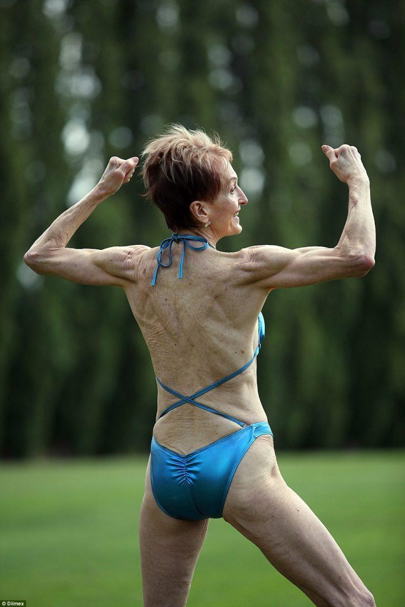 A fisiculturista Janice Lorraine