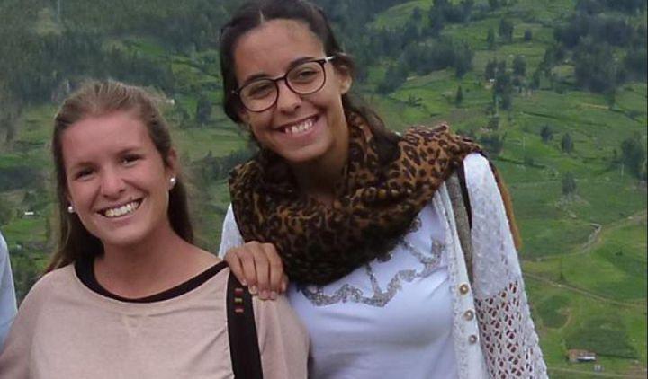 As adolescentes argentinas Marina Menegazzo e María José Coni