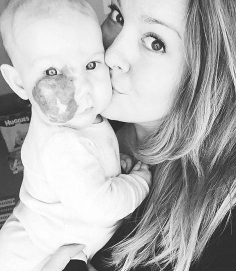 Katie e sua filha