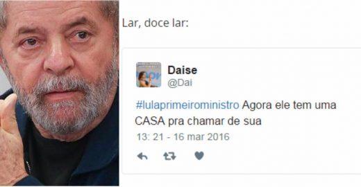 As melhores (e piores) reações da internet à nomeação de Lula a ministro da Casa Civil