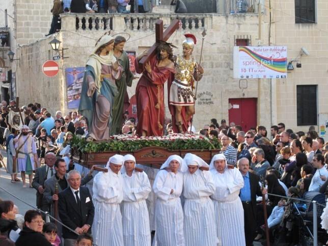 Páscoa na ilha de Malta