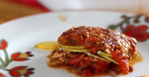 Saudável e gostosa: lasanha de abobrinha sem massa