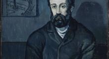 Picasso, Portrait d'homme, 1903, -® RMN-Grand Palais (Musée National Picasso-Paris), ® Succession Picasso, 2015