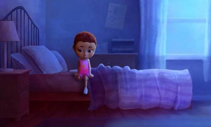 Cena da animação 'Scarlett contra o câncer'