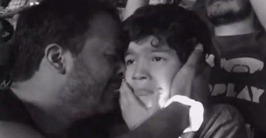 [Vídeo] Pai registra reação de filho autista ao ouvir música preferida em show do Coldplay