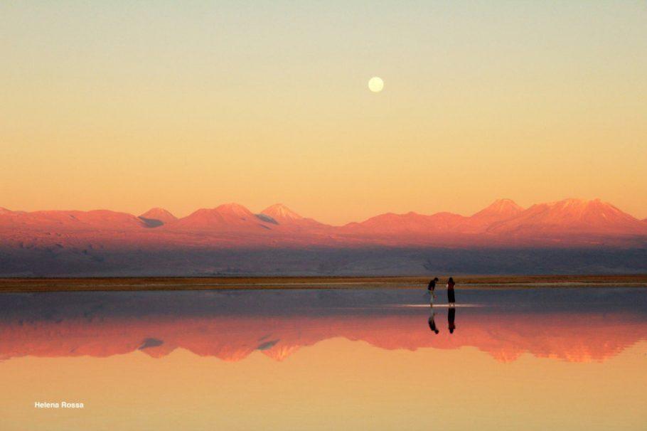 Pôr do sol no Atacama, Chile