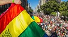 A festa em prol de direitos sociais tem entrada Catraca Livre e leva todo seu brilho para o cartão postal paulistano - reprodução/Facebook APOLGBT