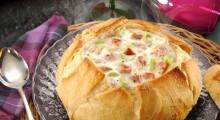 Sopa no pão italiano  (divulgação)
