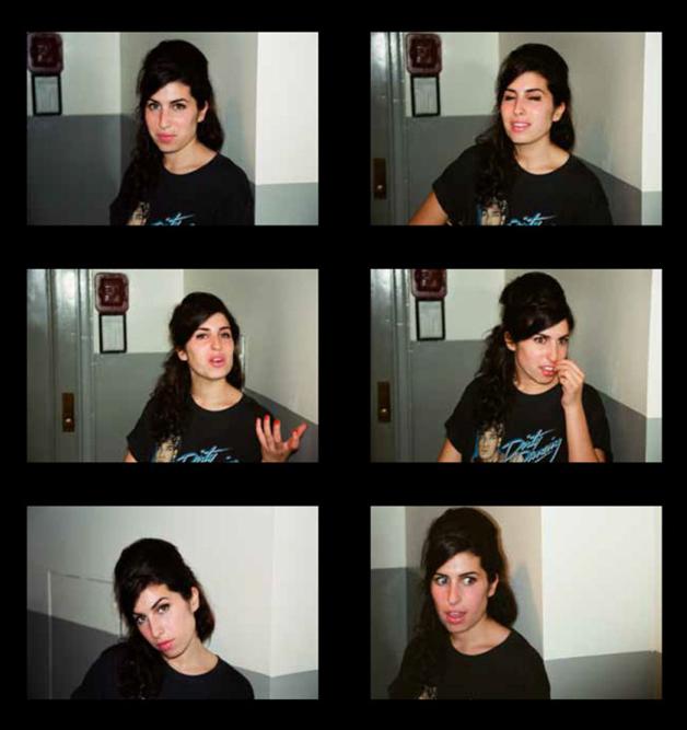 Fotos inéditas da cantora