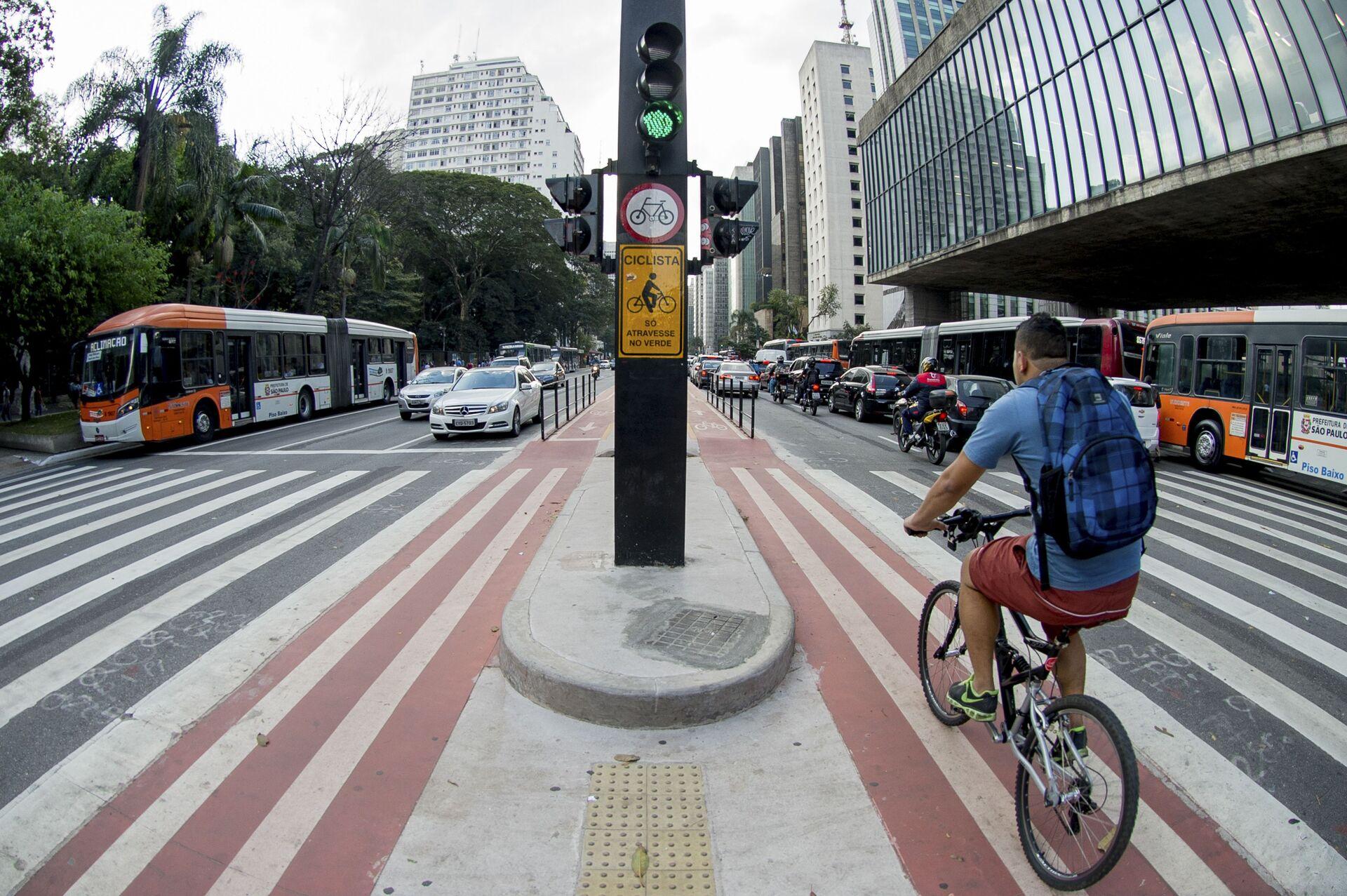 Agora é lei: quem se deslocar de bicicleta em SP vai receber incentivo financeiro