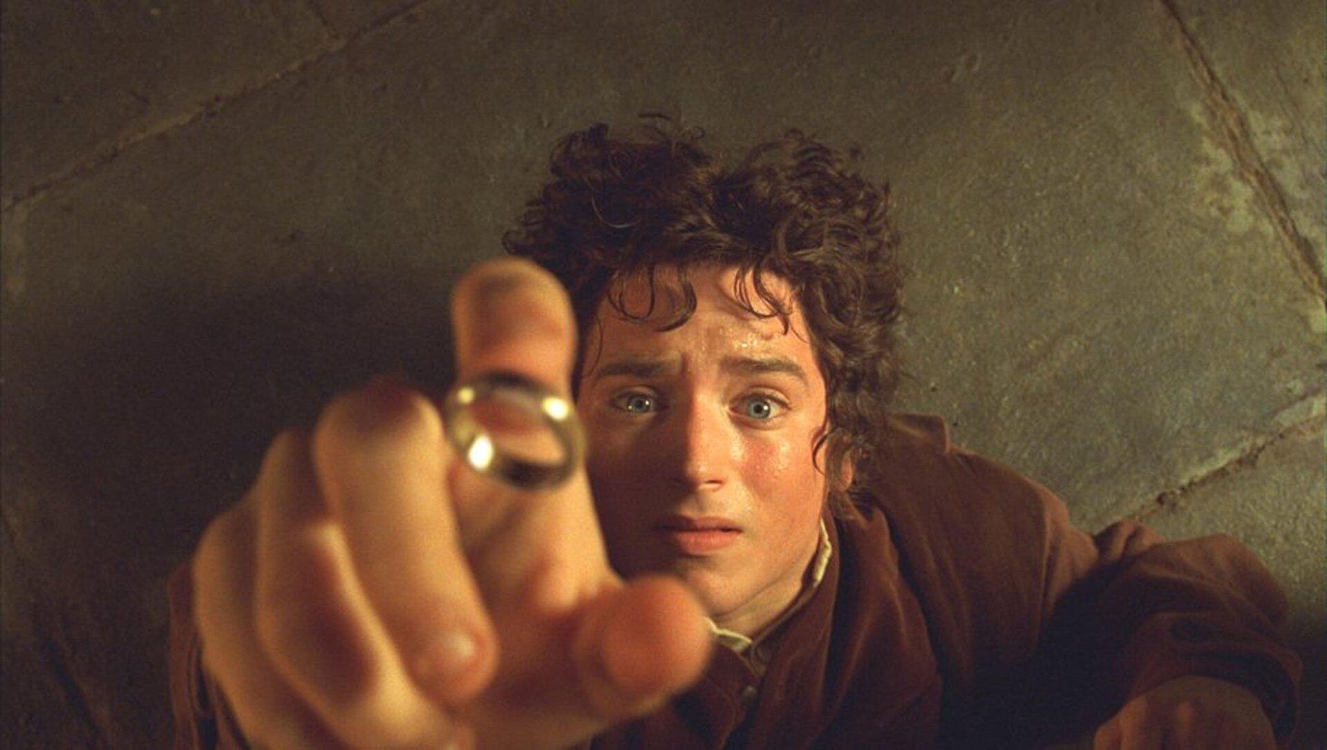 """O ator no filme """"O Senhor dos Anéis"""""""