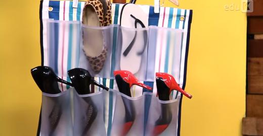 Aprenda a fazer caixas organizadoras e sapateiras com videoaulas on-line
