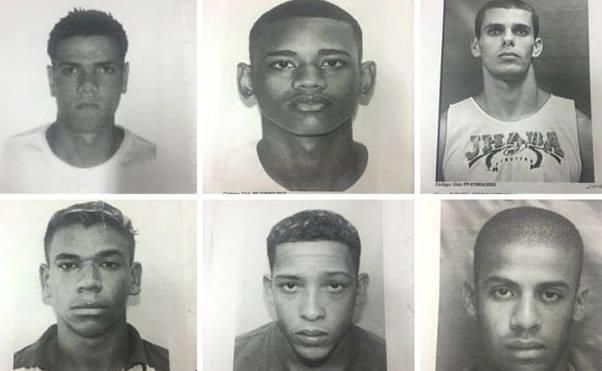 Um dos seis suspeitos do crime já foi preso