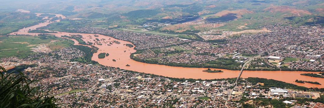 Rio Doce após desastre em Mariana