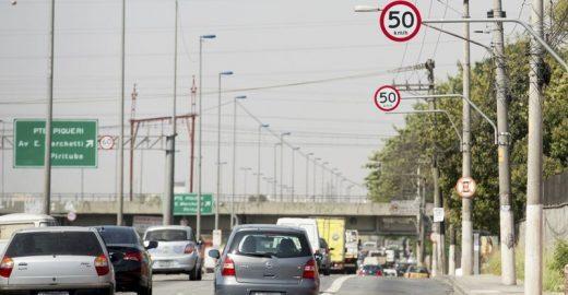 Marginais podem ter tolerância de até 30% no limite de velocidade