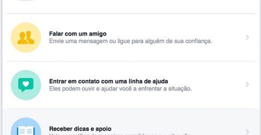 Facebook lança no Brasil ferramenta para prevenir suicídios