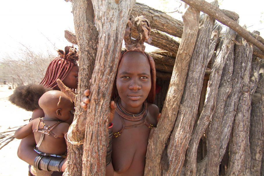 Mulher da tribo Himba