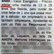 Anúncio divulgado por jornal paraense em 2015