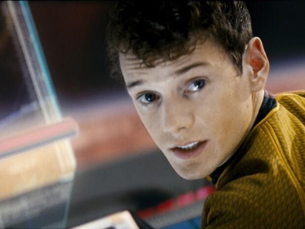 O ator na franquia 'Star Trek'