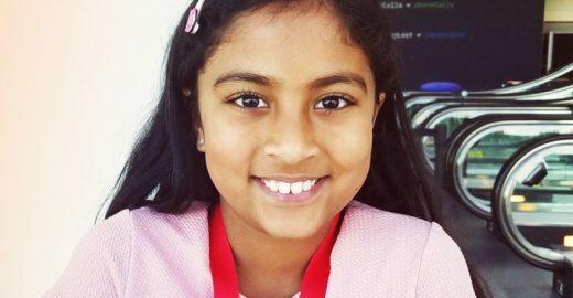 Uma programadora de 9 anos foi o destaque do evento da Apple