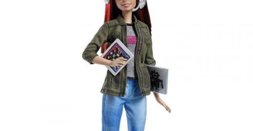 Mattel lança Barbie desenvolvedora de jogos