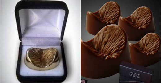 Inglês cria chocolate e joias em formato de ânus