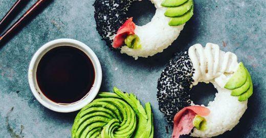 Donut de sushi? Aprenda a criar novas tendências na culinária japonesa