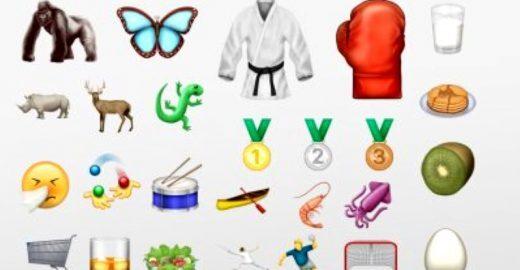 Os 72 novos emojis anunciados para smartphones
