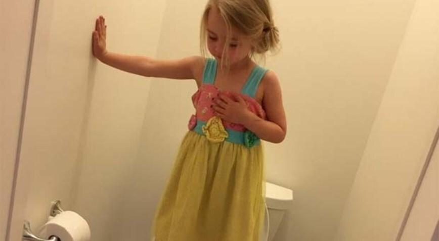 Mãe posta foto de filha de 3 anos e choca o mundo com discurso
