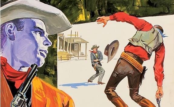 """Imagem da Exposição """"Comics, que paixão! Os quadrinhos italianos, de 1950 até hoje"""""""