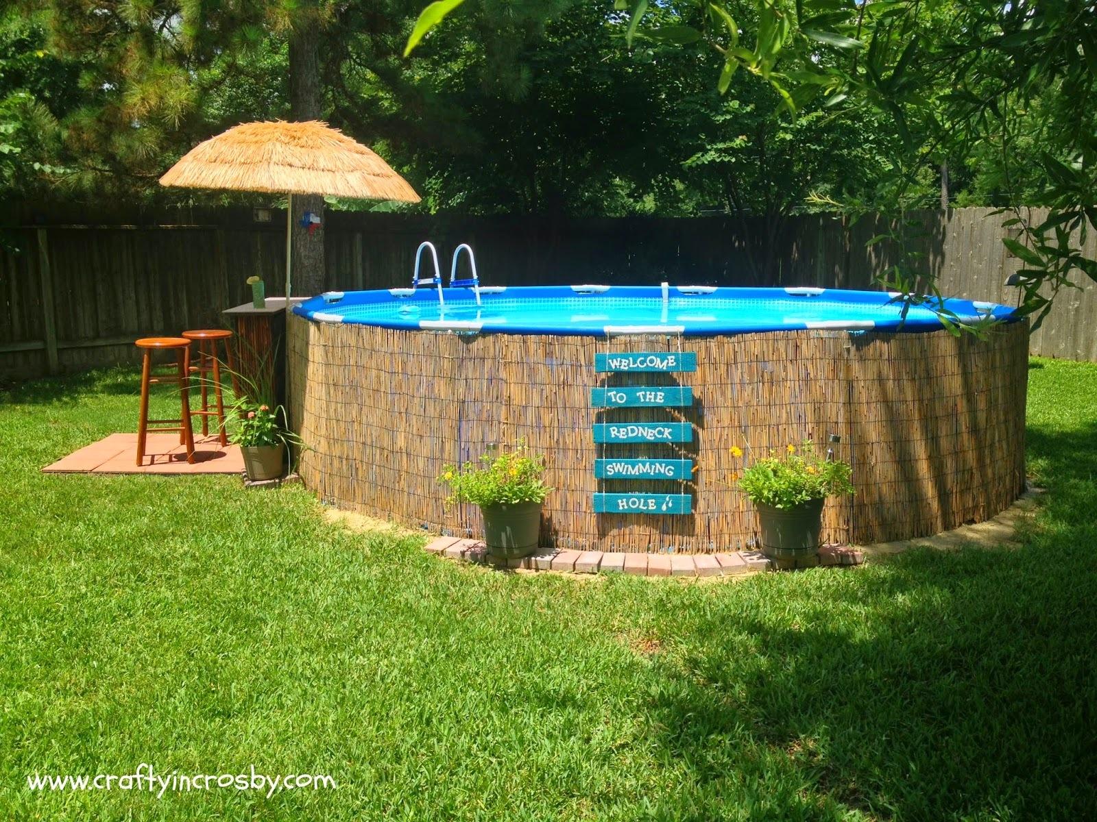Comece agora a fazer sua piscina para o ver o for Piscinas intex baratas