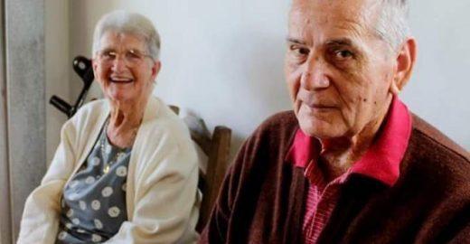 Depois de 63 anos casados, idosos morrem no mesmo dia