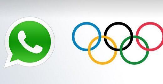 WhatsApp é atualizado com emojis gigantes e anéis Olímpicos