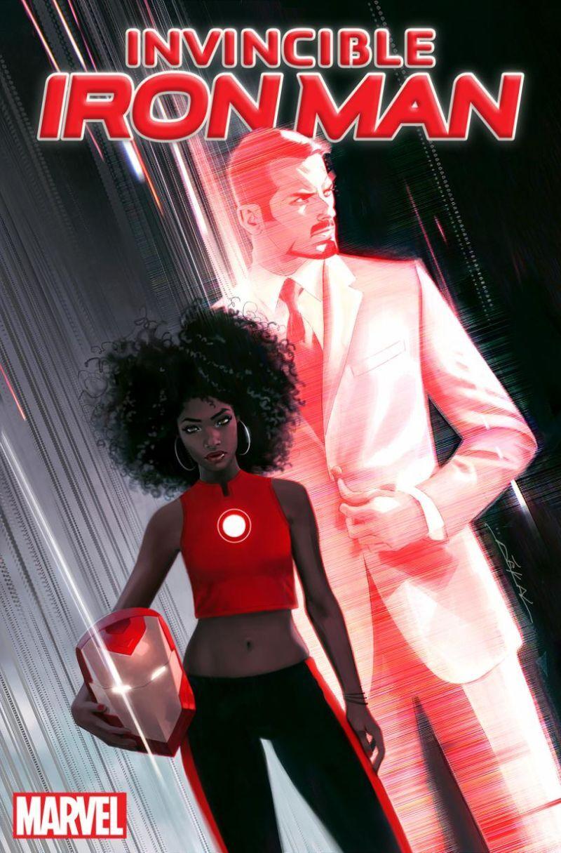 Riri Williams, que tomará o lugar de Tony Stark como o Homem de Ferro