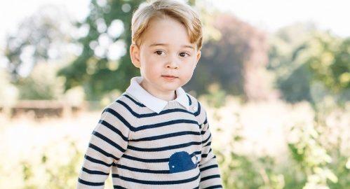 Ensaio de aniversário de 3 anos do príncipe George gera polêmica