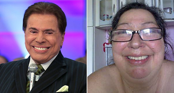 Silvio Santos e Cássia