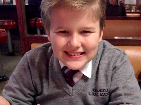 Daniel Fitzpatrick, de apenas 13 anos de idade