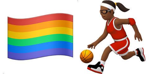 Emojis de atletas femininas e bandeira LGBT vêm aí no iOS
