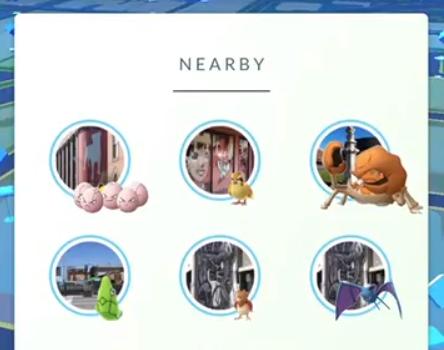 Algus jogadores já receberam a atualização final, que mostra fotos de onde os monstrinhos estão.