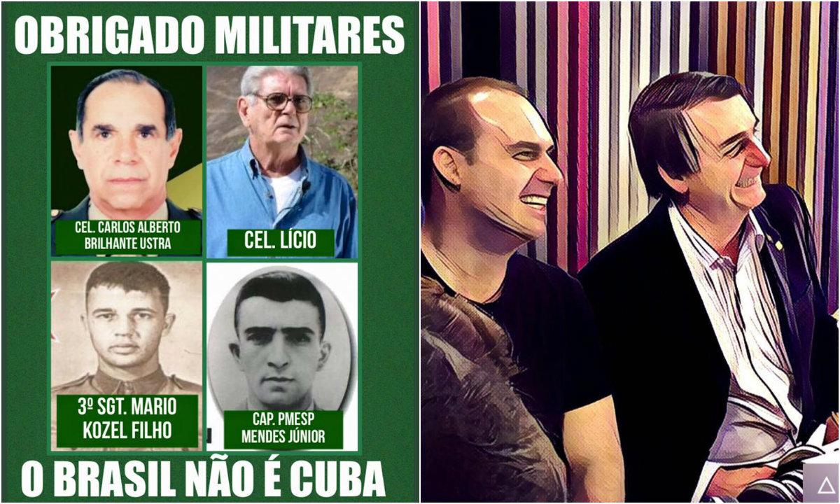 O coronel Ustra foi um dos torturadores de Dilma durante a Ditadura Militar