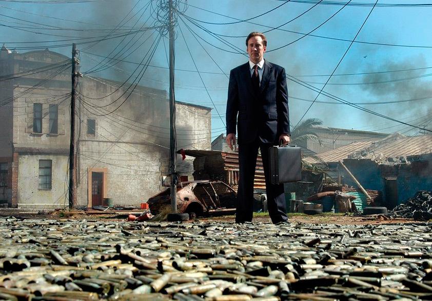 """Foto promocional do filme """" O Senhor da armas"""" que faz part da lista de filmes da Netflix para quem se interessa por marketing"""