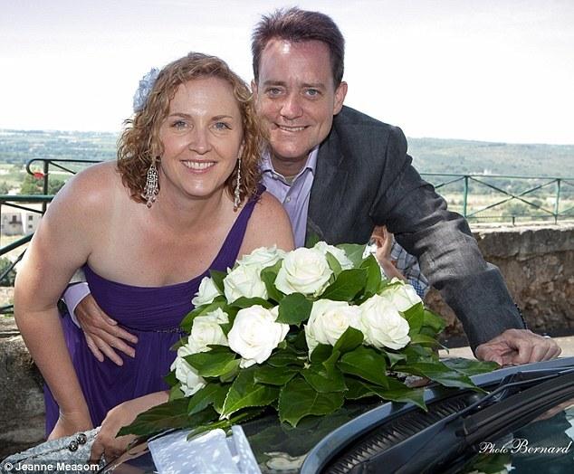 Jeanne e o marido