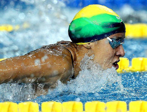 A atleta Joanna Maranhão