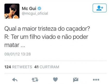 Mc Gui Explica Polemica Apos Ser Acusado De Homofobia 2:27 ademir batista 796 659 просмотров. mc gui explica polemica apos ser