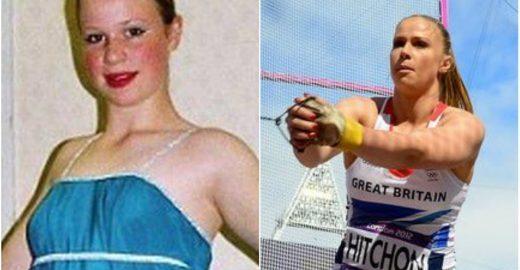 Ex-bailarina é a 1ª medalhista britânica no lançamento de martelo