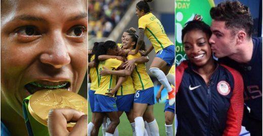 Futebol feminino foi o esporte mais comentado da Olimpíada