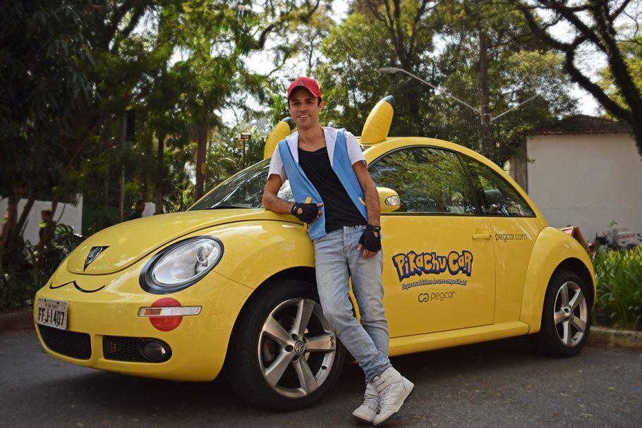 Oliver Thi incorporou o Ash com seu Pikachu Car!