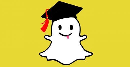 Muito além dos 10 segundos: saiba como estudar usando o Snapchat
