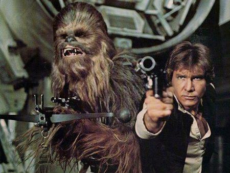Harrison Ford em Star Wars - Episódio IV - Uma Nova Esperança