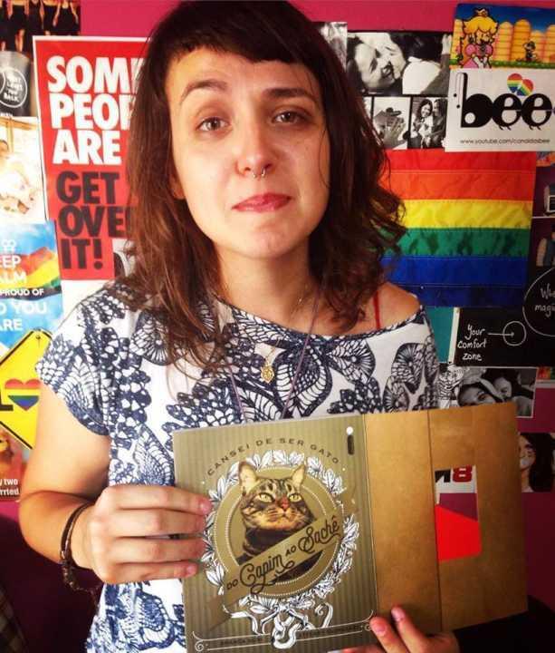 Debora Baldin, integrante do Canal das Bee